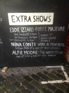 extra shows